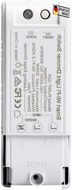 1 Pack Wifi Dimmschalter, Fornorm Smart Lichtschalter Dimmba