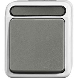 Merten Aus/Wechselschalter 1-polig, lichtgrau MEG3116-8029 E