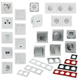 DELPHI Komponenten, Elektro-Installationsserie Schalterserie