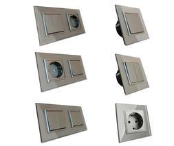 LIVOLO Design Lichtschalter Wandschalter Wippschalter Kippsc