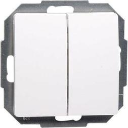 Kopp Einsatz Wechselschalter Paris Weiß 650302080