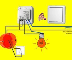 FUNK-LICHTSCHALTER-SET -TOP! LED/Lampen per Funk schalten -