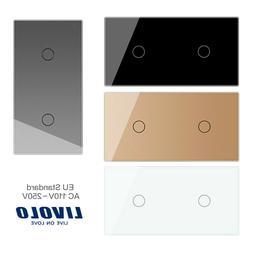 Livolo Glas Touch Lichtschalter Touchscreen Schalter mit LED
