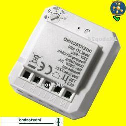 ITL-2300 Intertechno Funk-Lichtschalter Mini-Modul Lampen,LE
