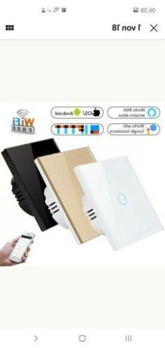 APP Wifi 3 Fach TouchSchalter Lichtschalter Alexa