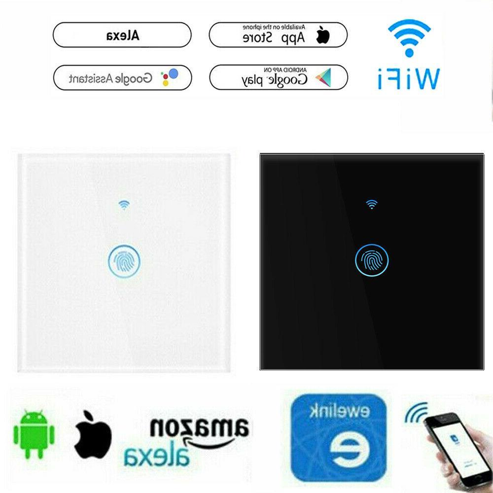 smart home wifi lichtschalter touch wandschalter app