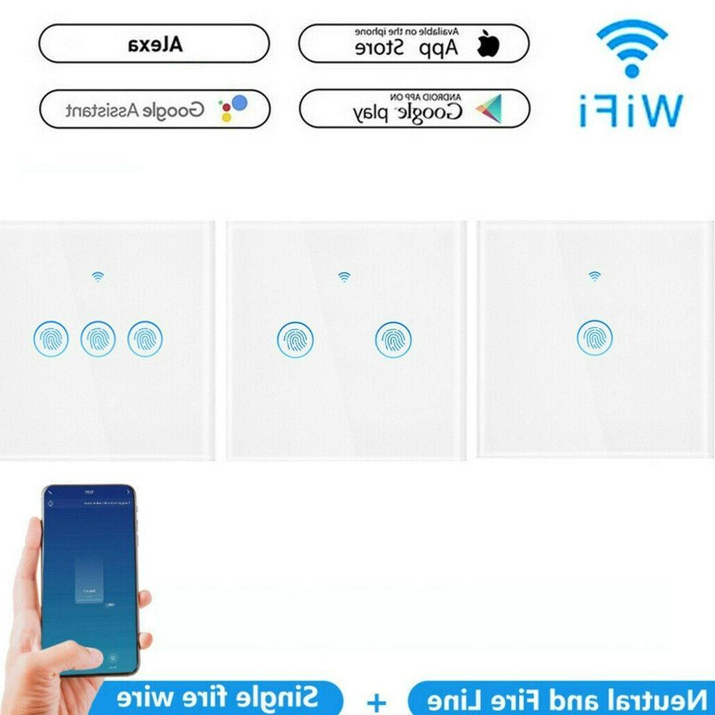 smart wifi wlan touch alexa smart lichtschalter