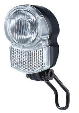LED Fahrradlampe 25 LUX Nabendynamo Schalter Frontlicht Lamp