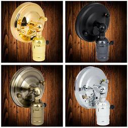 Lichtschalter Wandleuchter Dachboden Lampe Halter Industriel