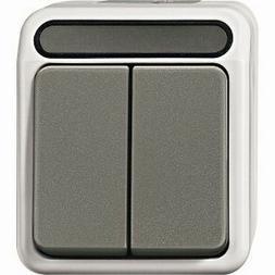 Merten AQUASTAR Serienschalter lichtgrau MEG3115-8029