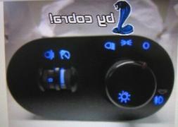 Seat Ibiza Lichtschalter Schalter ohne NSW 6L1941531AD Blau