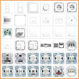 JUNG Serie AS 500 AS500 WW Alpinweiß Weiß USB Steckdose Ra