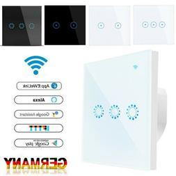 Smart Schalter WIFI Wandschalter Wlan Touch Alexa Smart Lich