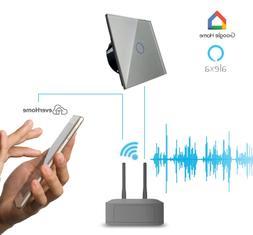 LIVOLO SmartHome Touch Funk Lichtschalter Dimmer Glas Alexa