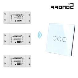 Sonoff RF WiFi Funk Lichtschalter Wandschalter+433mhz RF Tou