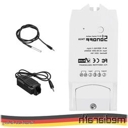 SONOFF TH16 16A 3500W Smart Switch + Sensor - Tasmota 9.2 -