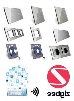 LIVOLO ZigBee WLAN Lichtschalter SmartHome Glas Touch Steckd