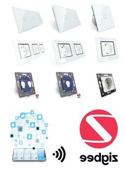 LIVOLO ZigBee WLAN Lichtschalter SmartHome Glas Touch & Stec