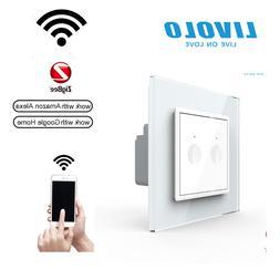 LIVOLO ZigBee WLAN Smart Lichtschalter Touch mit LED Anzeige